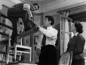 Louis De Funès, Robert Lamoureux and Gaby Morlay: Papa, Maman, Ma Femme et Moi, 1956 by Limot