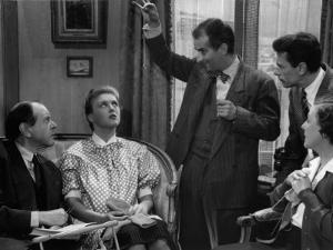 Louis De Funès, Robert Lamoureux, Nicole Courcel, Fernand Ledoux and Gaby Morlay: Papa, Maman, Ma F by Limot