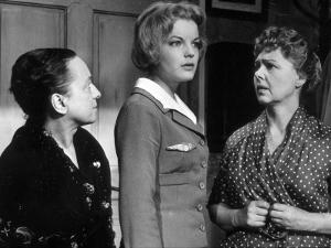 Paulette Dubost and Romy Schneider: Mademoiselle Ange, 1959 by Limot
