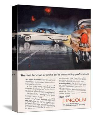 Lincoln 1955 Performance