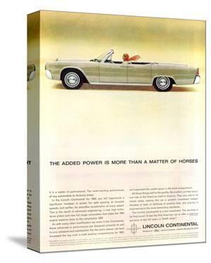 Lincoln 1963- Matter of Horses