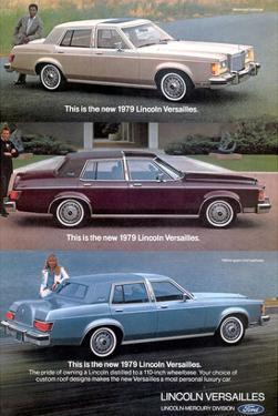 Lincoln 1979 Most Personal Car