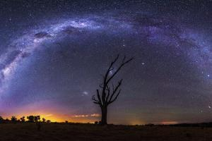 Milky Way Pano 2 by Lincoln Harrison