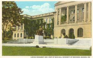 Lincoln Monument, University, Madison, Wisconsin