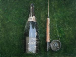 Bottle and Rob II, 2012 by Lincoln Seligman