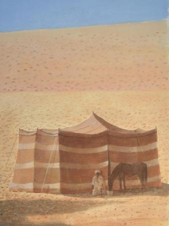 Desert Tent Rajasthan by Lincoln Seligman