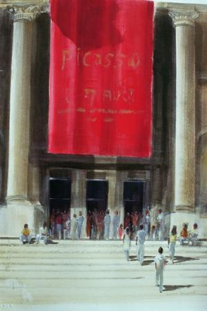 Entrance to the Metropolitan Museum, New York City, 1990