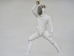 Fencer by Lincoln Seligman