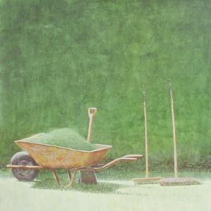 Gardening Still Life, 1985 by Lincoln Seligman