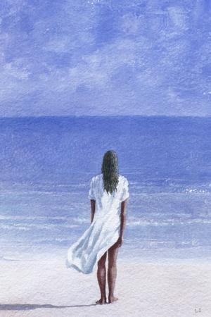 Girl on Beach, 1995