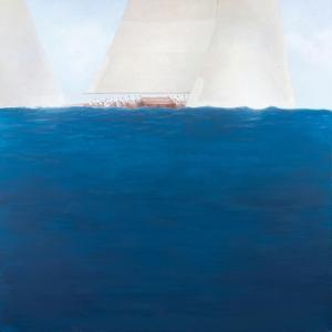 J Class Racing, the Solent, 2012 by Lincoln Seligman