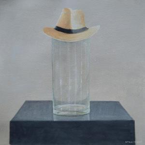 Panama on a Glass Jar by Lincoln Seligman