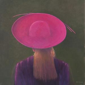 Pink Hat, 2014 by Lincoln Seligman