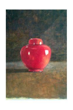 Red Jar, 1996 by Lincoln Seligman