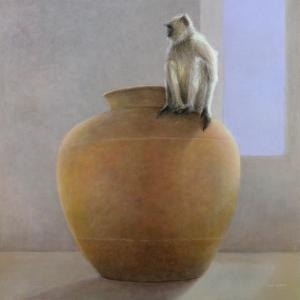 Temple Monkey by Lincoln Seligman