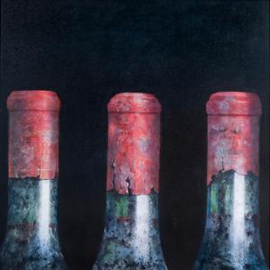 Three Dusty Clarets, 2012 by Lincoln Seligman