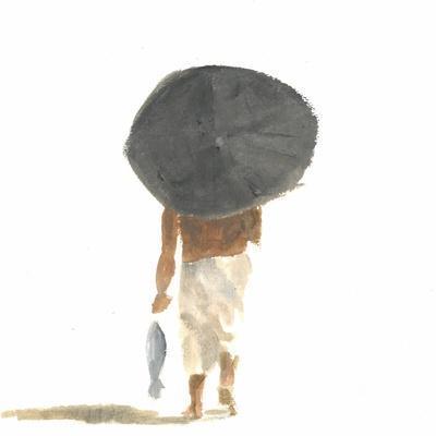 Umbrella and Fish, 2015