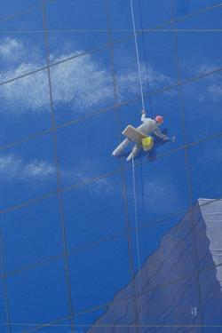 Window Cleaner, 1990 by Lincoln Seligman