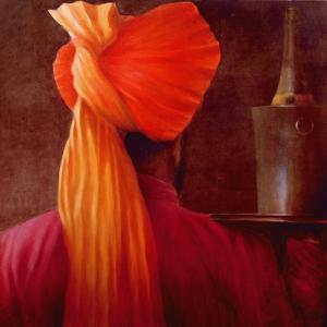 Wine Waiter at the Taj by Lincoln Seligman