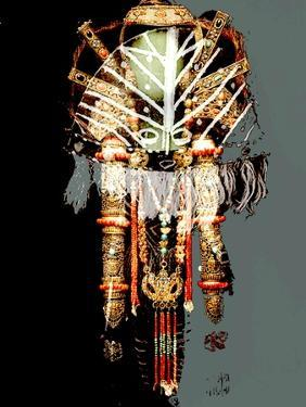 AFRICAN MASKS COLLAGE by Linda Arthurs