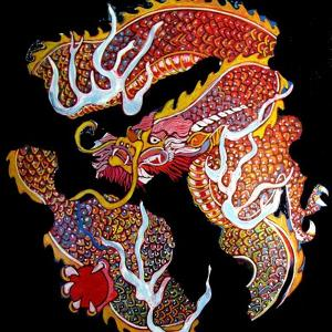 Dragon by Linda Arthurs