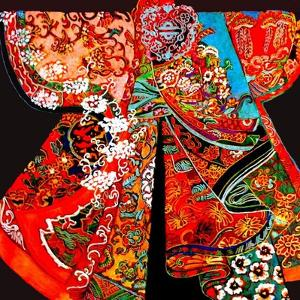 Kimono by Linda Arthurs