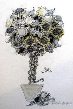 Sunflower arrangement by Linda Arthurs