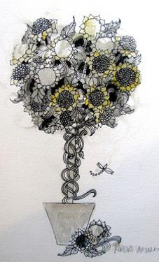 Sunflower arrangement by Linda Arthurs