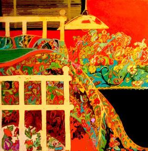 Winter Bedroom by Linda Arthurs