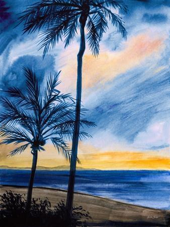 Blue Tropic Nights I