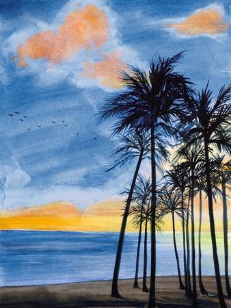 Blue Tropic Nights II