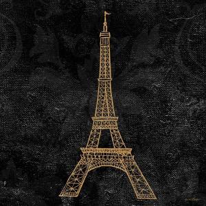 Elegant Paris Gold III by Linda Baliko