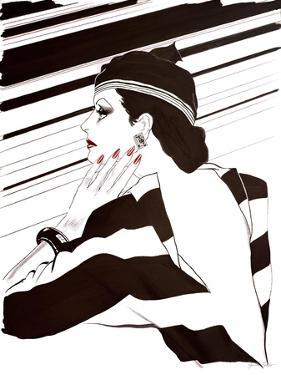 Fashion Women IV by Linda Baliko