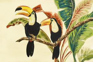 Tropical Toucans I by Linda Baliko