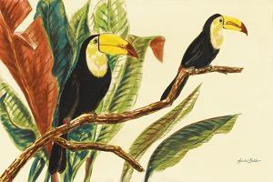 Tropical Toucans II by Linda Baliko