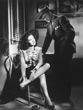 Linda Darnell, Charles Bickford, Fallen Angel, 1945