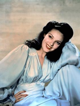 Linda Darnell dans les annees 40 in the 40's (photo)