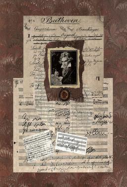 Linda Jade Charles Beethoven Art Print Poster