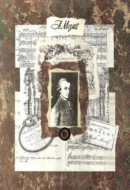 Linda Jade Charles Mozart Art Print Poster
