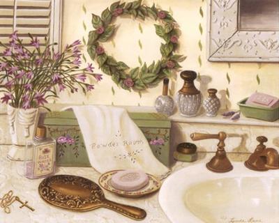Cassondra's Powder Room by Linda Lane