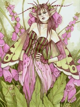 Digitalis Fae by Linda Ravenscroft