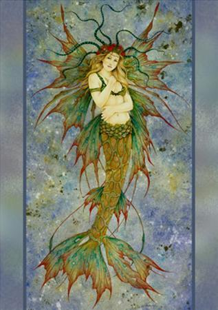 Mermaid by Linda Ravenscroft