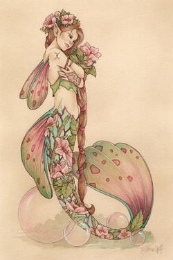 Spring Blossom Tide by Linda Ravenscroft