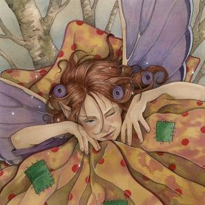 Stay in Bed Fairy by Linda Ravenscroft