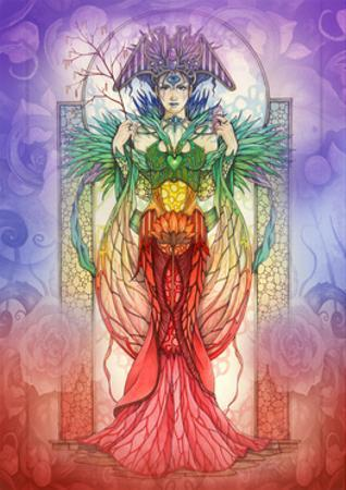 The Faerie Chakra by Linda Ravenscroft