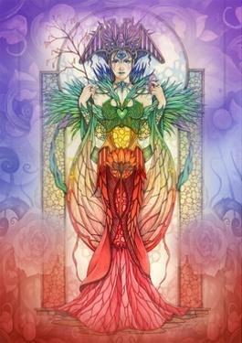 The Faerie Chakra by Linda Ravenscroft
