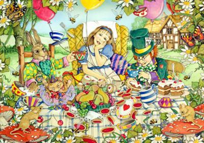 The Mad Tea Party by Linda Ravenscroft