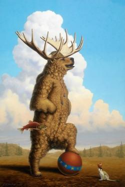 When Griz Grew Up He Wanted To Be A Moose by Linda Ridd Herzog