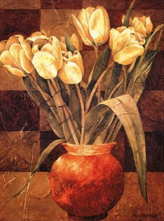 Checkered Tulips I