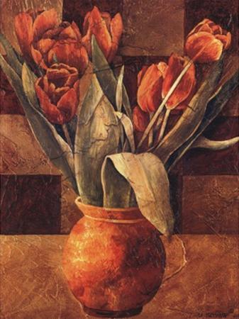 Checkered Tulips II